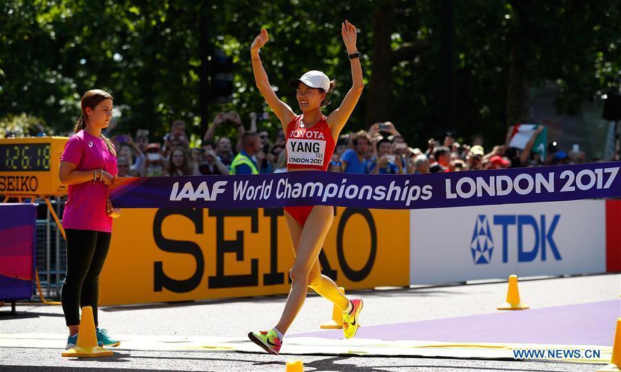 Yang Jiayu remporte la 2e médaille d'or chinoise à Londres