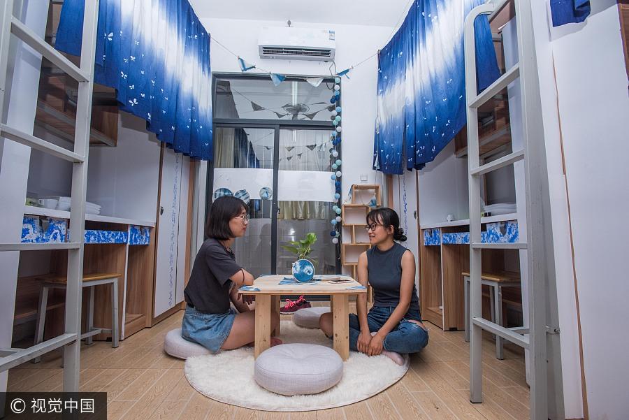 Popularité des dortoirs partagés auprès des touristes à Chengdu