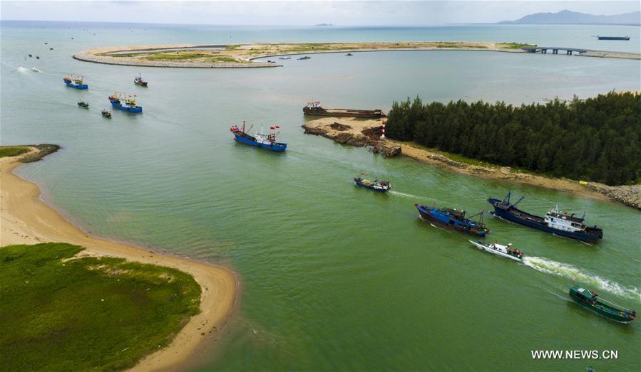 Début de la saison de la pêche en mer de Chine méridionale