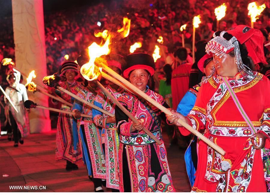 Ouverture du 7e festival « Guizhou multicolore » dans le sud-ouest de la Chine