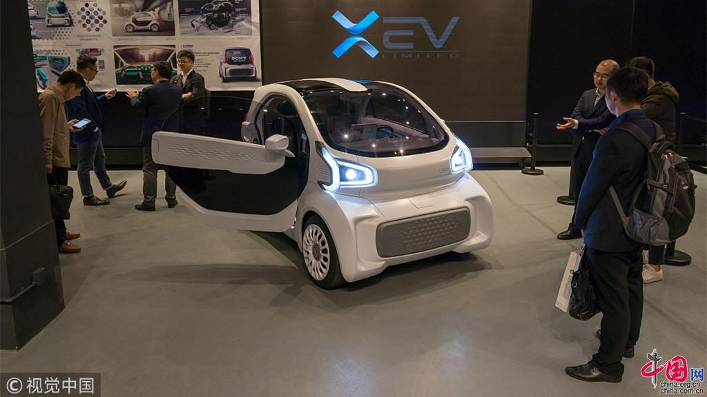 shanghai production en quantit de la premi re voiture lectrique au monde fabriqu e par. Black Bedroom Furniture Sets. Home Design Ideas