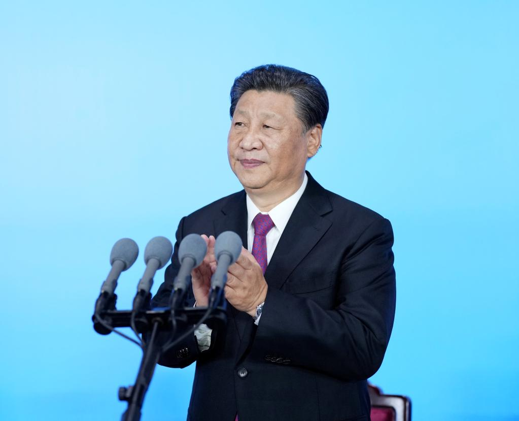 Chinese language President Xi Jinping declares China's XIV Nationwide Video games open
