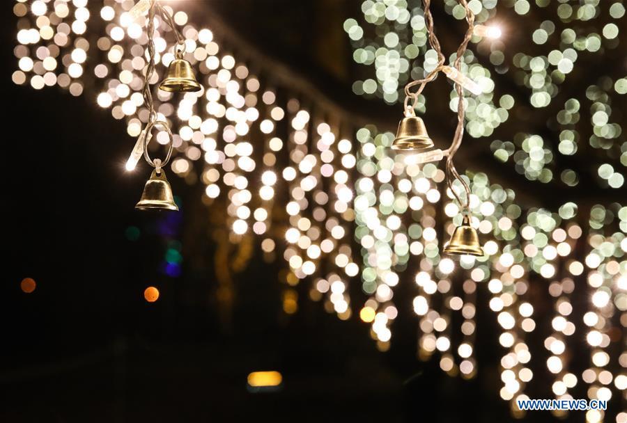 """Im """"Christmas Garden Berlin"""" geht das Licht an_China.org.cn"""