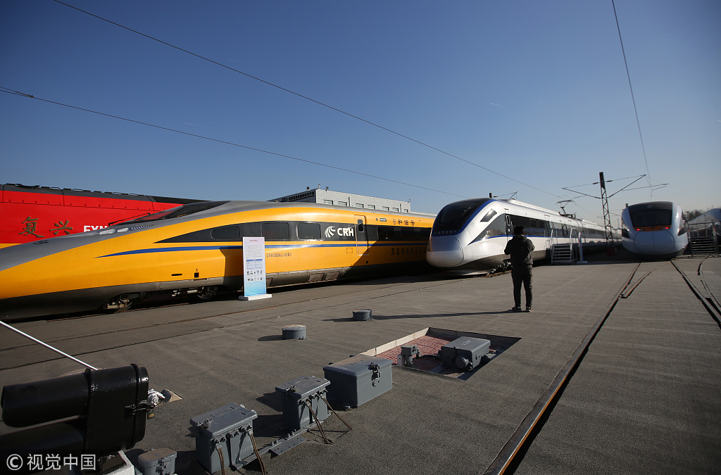 Hochgeschwindigkeitszüge China