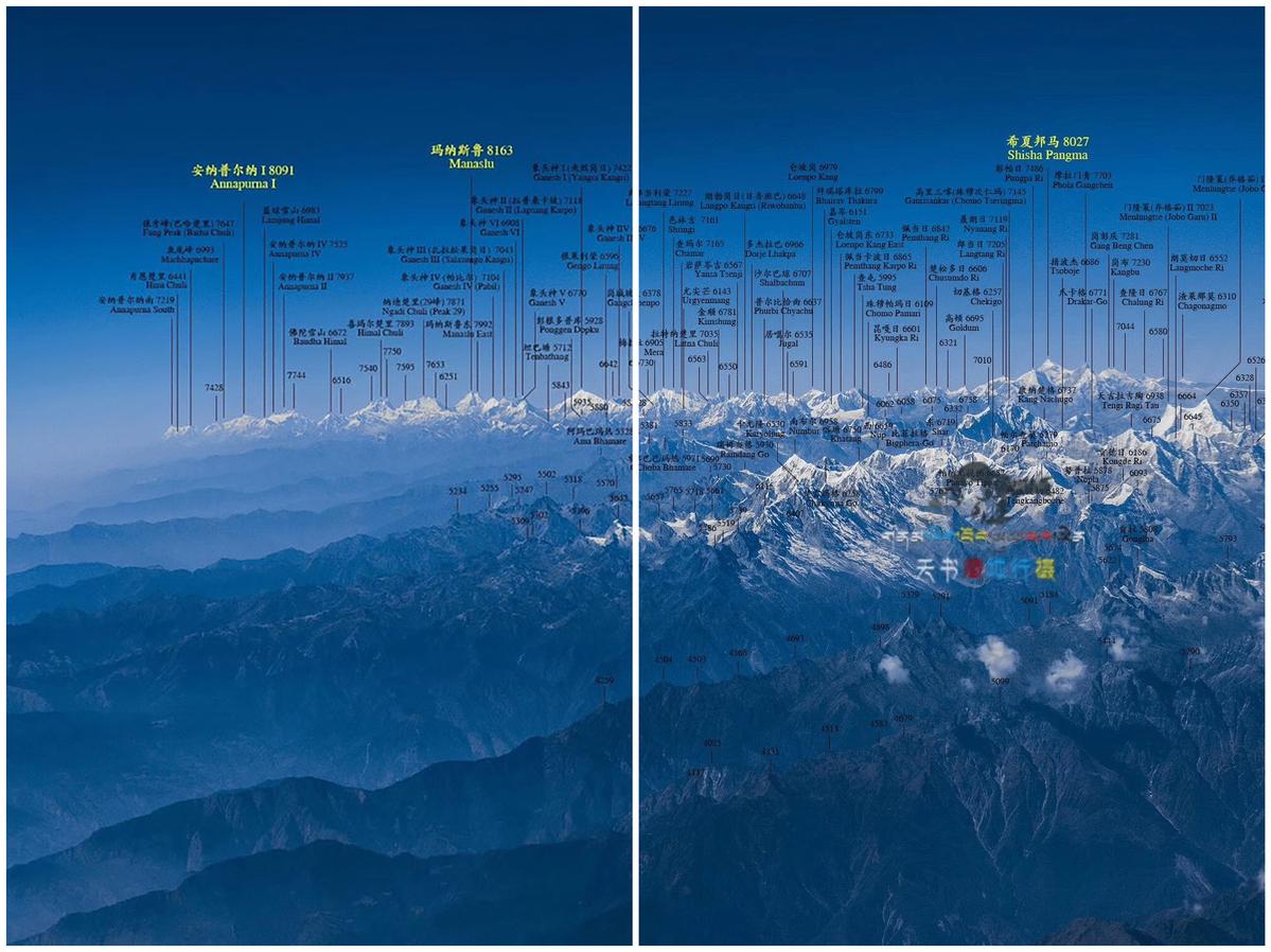 Himalaya Berge Karte.Himalaya Gebirge Detaillierte Karte Wird Hit Im Internet In