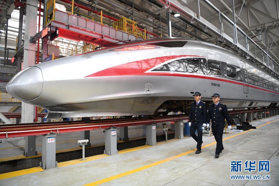 China Hochgeschwindigkeitszüge