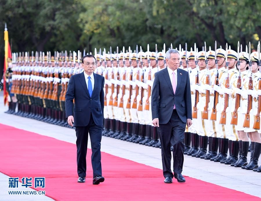 李克強総理 高速鉄道計画への中国企業参加にシンガポールの支持を希望