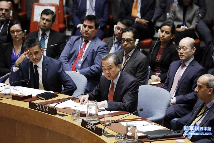 王毅外交部長、国連安保理の核不...