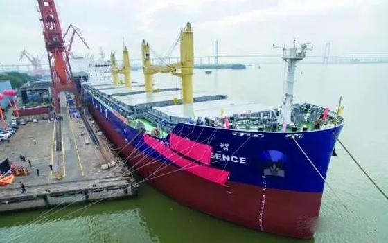 我国建成全球首艘智能船 船上覆盖有500个传感器
