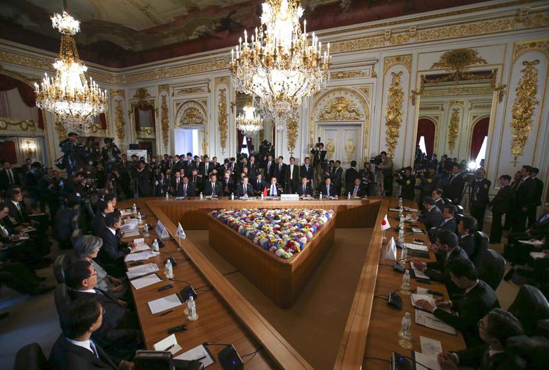 李総理「個別対策と抜本的対策を兼ね備えて実現目指す朝鮮半島の平和と安定」