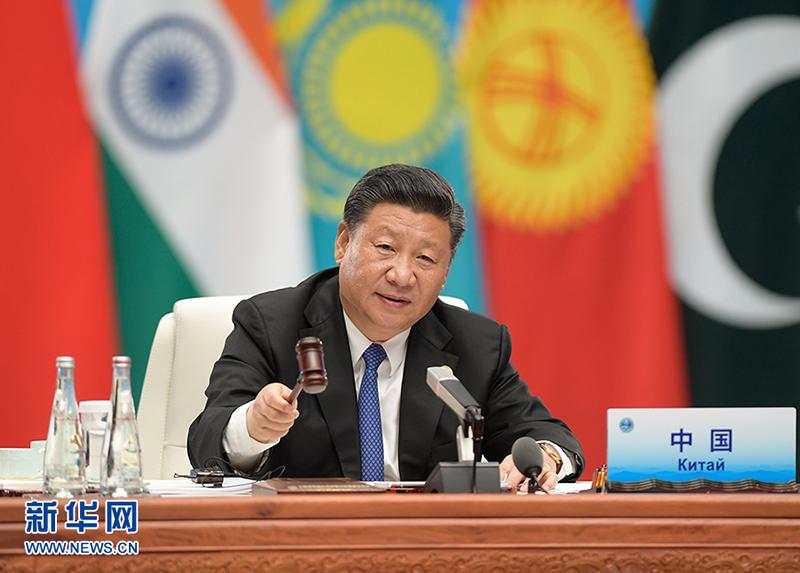 習近平主席「『上海精神』を発揚し、SCO運命共同体を構築」