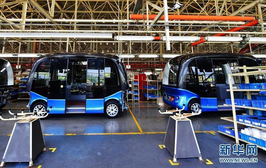 百度の自動運転バスが海外進出 まず日本へ