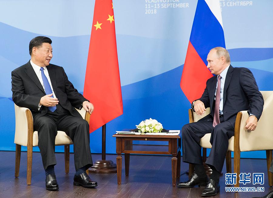 習近平国家主席「中露包括的・戦略的協力パートナーシップをさらなる高みへ」