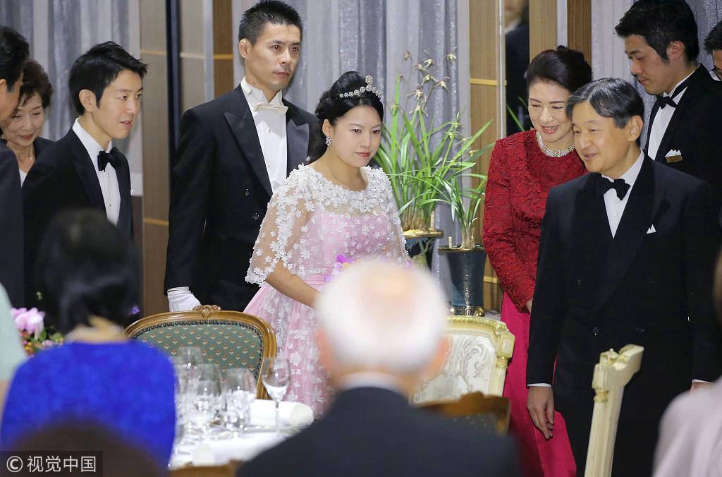 絢子さまの結婚式 皇室・政界の大物が集結_中国網_日本語