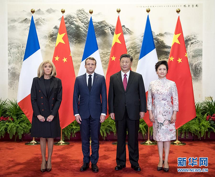 習近平国家主席「中仏が引き続き大国間関係の前列を歩むようにする」