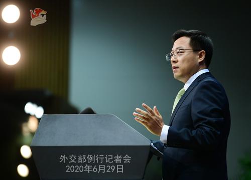 中国は香港地区の問題で悪辣な行動をした米国人へのビザを制限