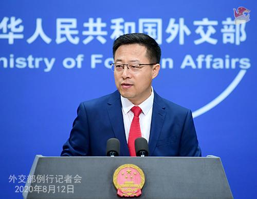 米厚生長官の台湾大学での演説に中国「米国は政治パフォーマンスは止めるべき」