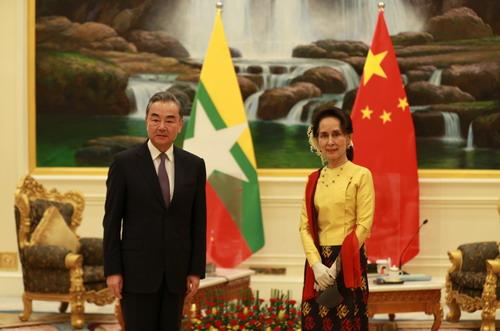 王毅部長「中国発展のチャンスをミャンマーと共有しウィンウィンを実現」