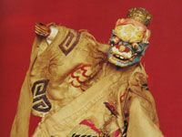 Деревянные куклы из разных регионов Китая