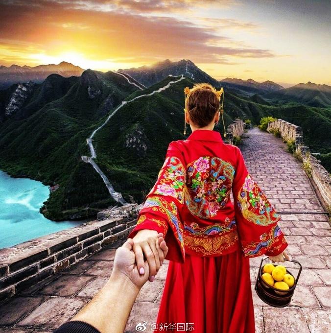 Любовь повсюду! Супружеская пара из России приехала в Китай