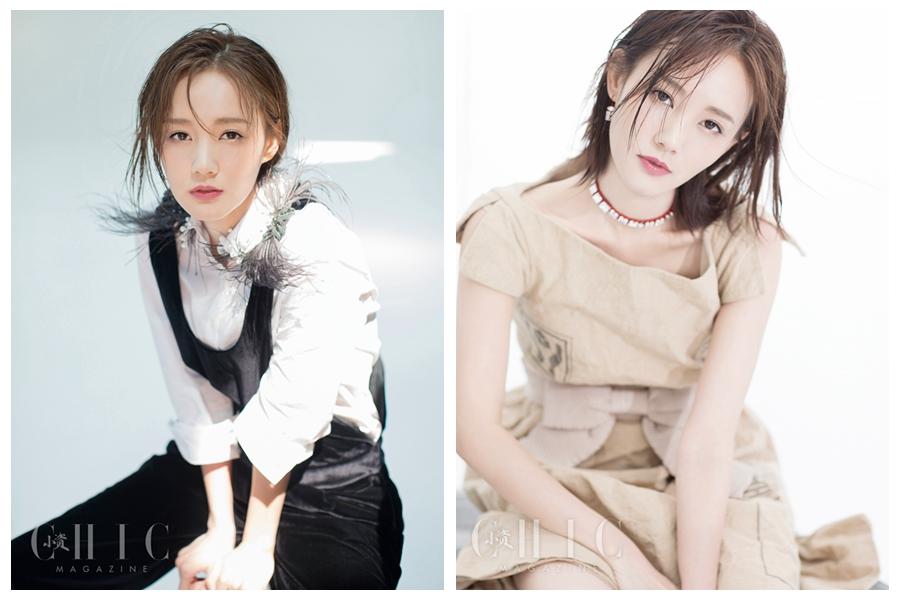 Китайская актриса Ли Итун попала на модный журнал