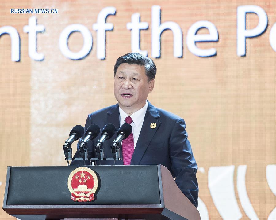 Си Цзиньпин выступил на деловом саммите АТЭС в Дананге