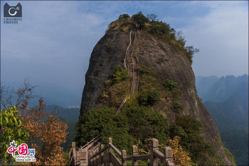 Очаровательные пейзажи на горах Ланшань