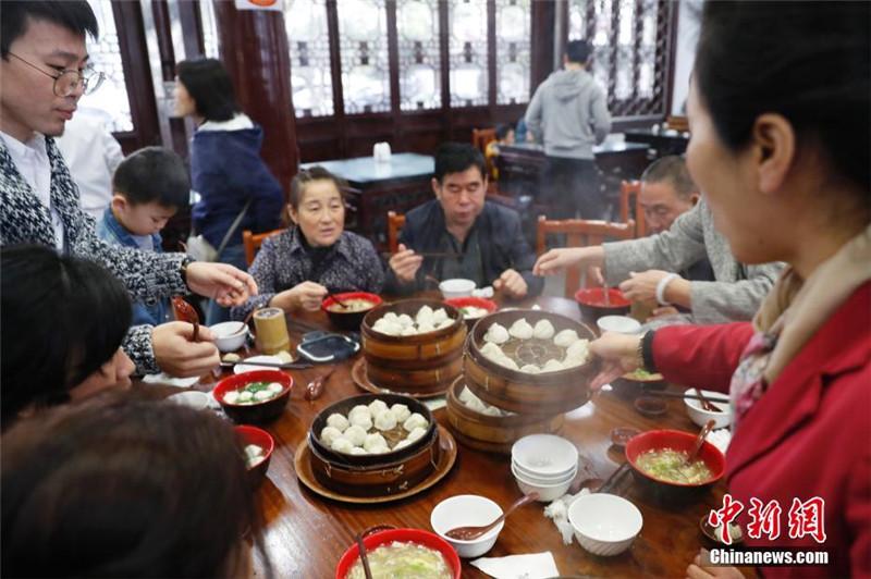 Нематериальное культурное наследие Шанхая: баоцзы Наньсян