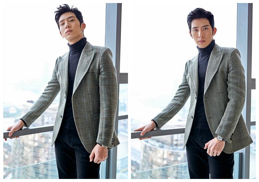 Китайский актер Цзин Божань создает модный стиль