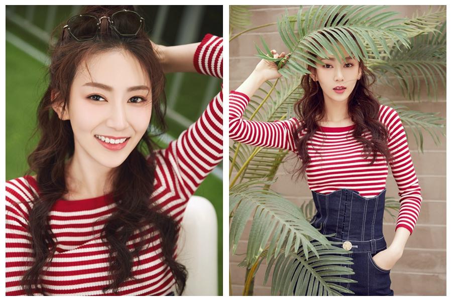 Молодая актриса Чжао И попала на обложку модного журнала
