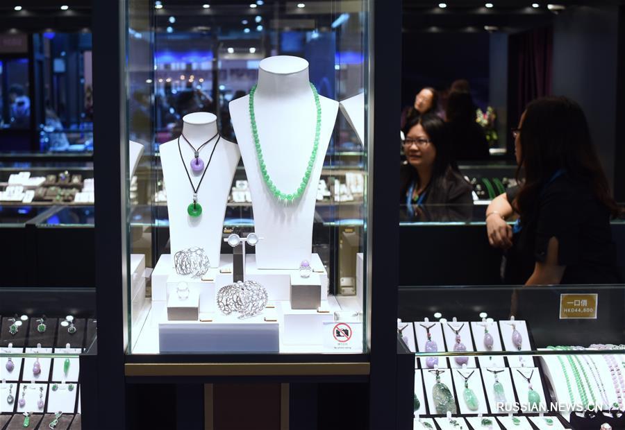 В Сянгане открылась Международная выставка производителей ювелирных изделий-2017