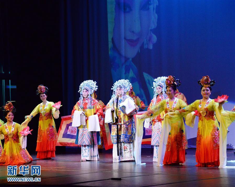 Этнические китайцы в Чикаго выступили с яркой программой