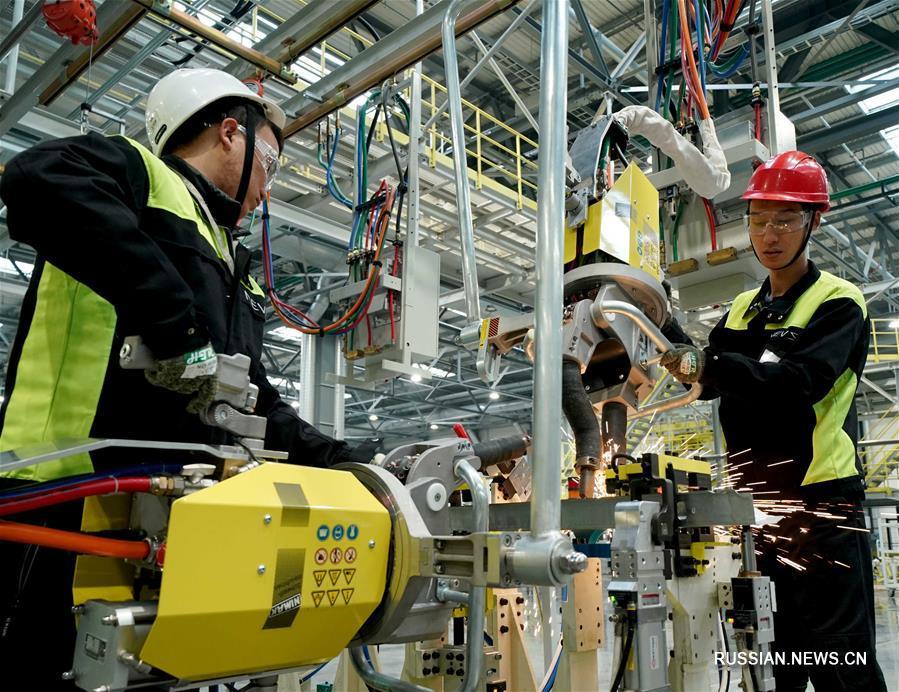 В Тяньцзине запущено производство автомобилей на новых источниках энергии марки NEVS