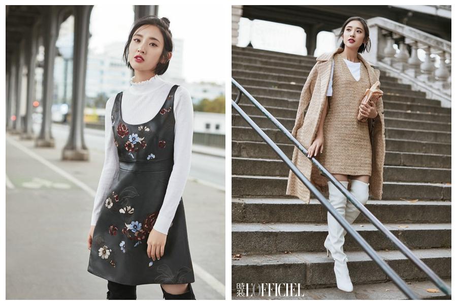 Телезвезда Тан Исинь попала на модный журнал