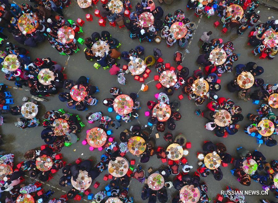 Мяоский Новый год в деревне Данцзю