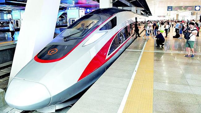 Китайская высокоскоростная железная дорога приковывает взоры к «Поясу и Пути», популяризуется международная репутация «сделано в Китае»