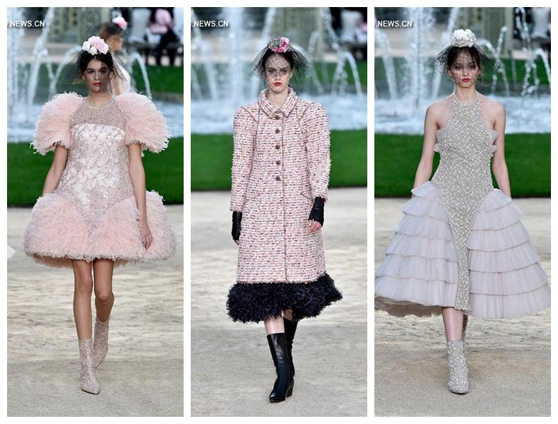 Неделя моды в Париже  показ коллекции Chanel Haute Couture весна-лето 2018  года 67a29b10b3f