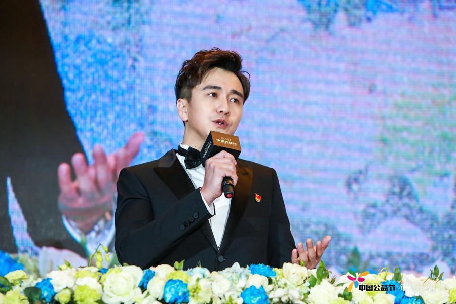 Чжай Тяньлинь принял участие в праздновании дня благотворительности и получил премию за благотворительность