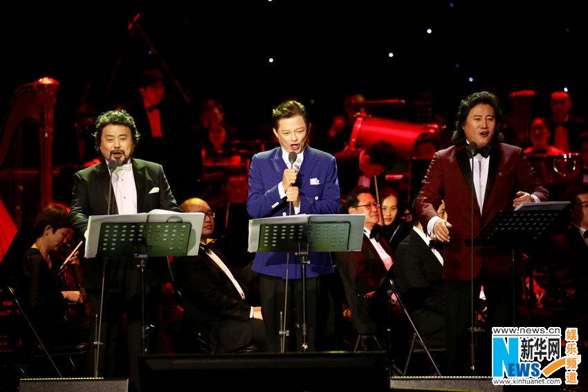 Пекинский концерт трех выдающихся китайских теноров к празднику Весны пользуется популярностью у аудитории