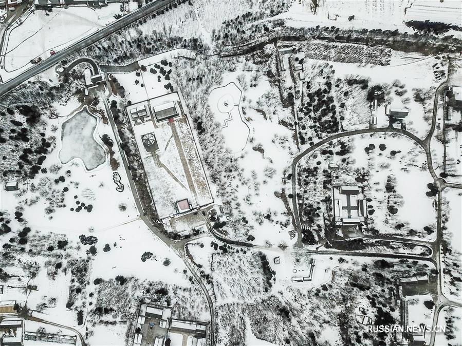 Зимнее очарование древнего города Хэту-Ала