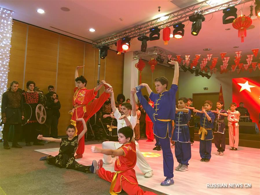 Посольство Китая в Грузии провело торжественный прием в честь праздника Весны