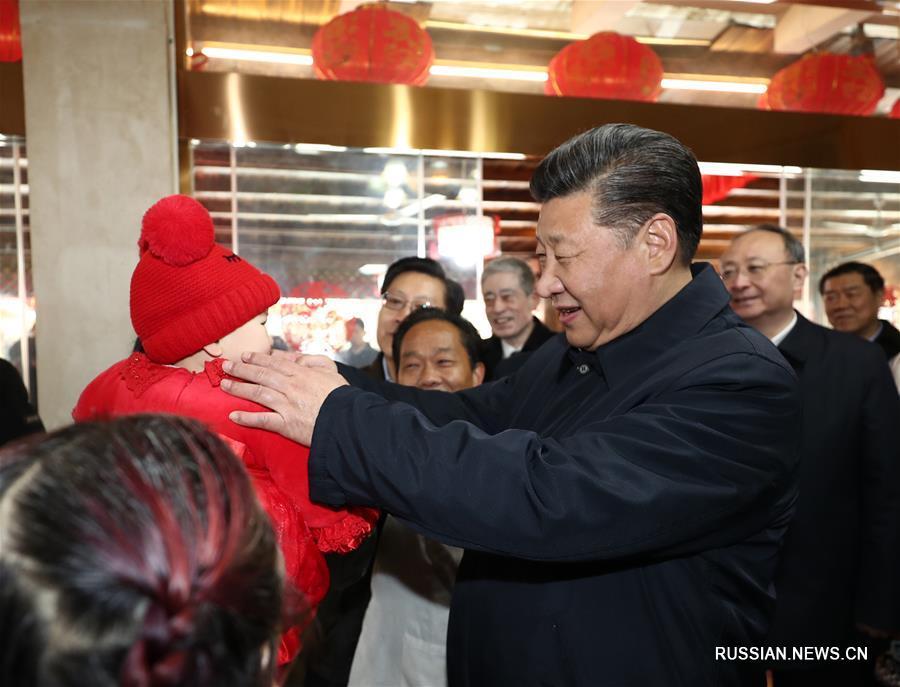 Си Цзиньпин продолжает инспекцию в Сычуань