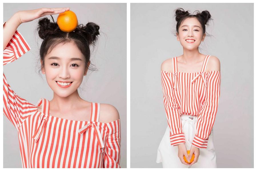 Молодая телезвезда Хэ Хуа