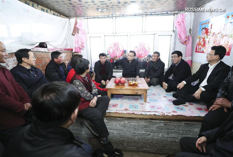 Ли Кэцян подчеркнул важность народного благосостояния в ходе инспекции перед Новым годом по лунному календарю