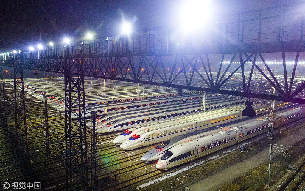 Иностранные СМИ: в этом году во время Праздника Весны по железной дороге проедет 390 млн.человек, высокоскоростные железные дороги облегчат тяжелый путь домой в праздники