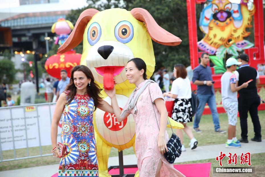 В Сиднее открылся праздник фонарей по случаю Китайского нового года