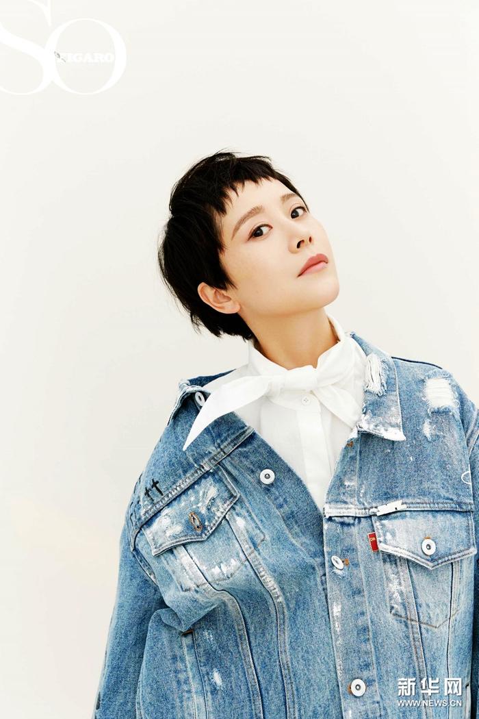 Хай Цин попала на обложку модного журнала