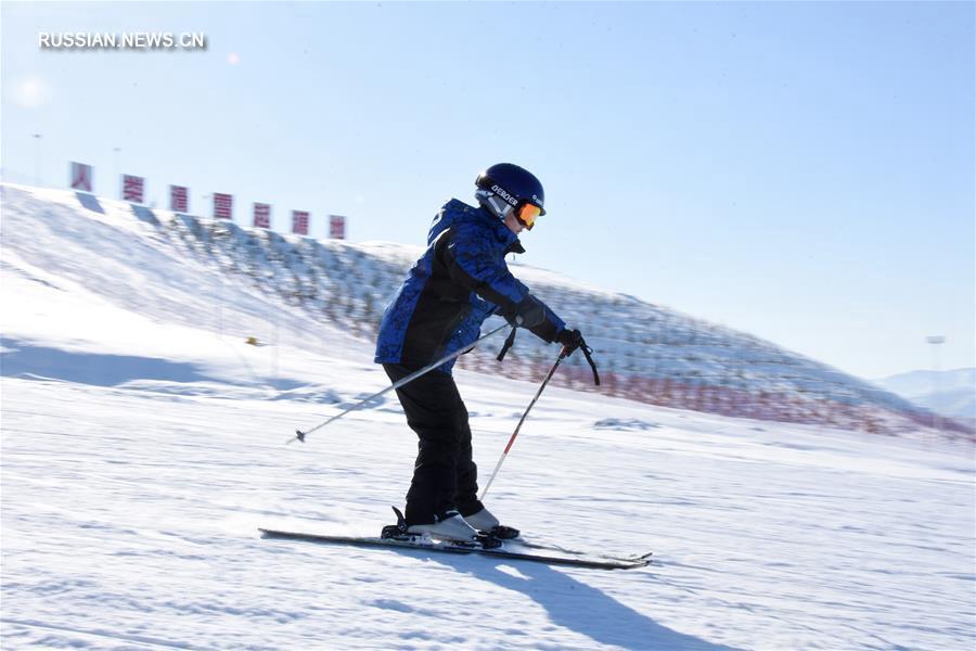 В Алтае все еще катаются на лыжах