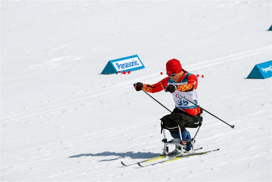 Паралимпиада-2018 -- Лыжные гонки: обзор гонки на 12 км. сидя среди женщин