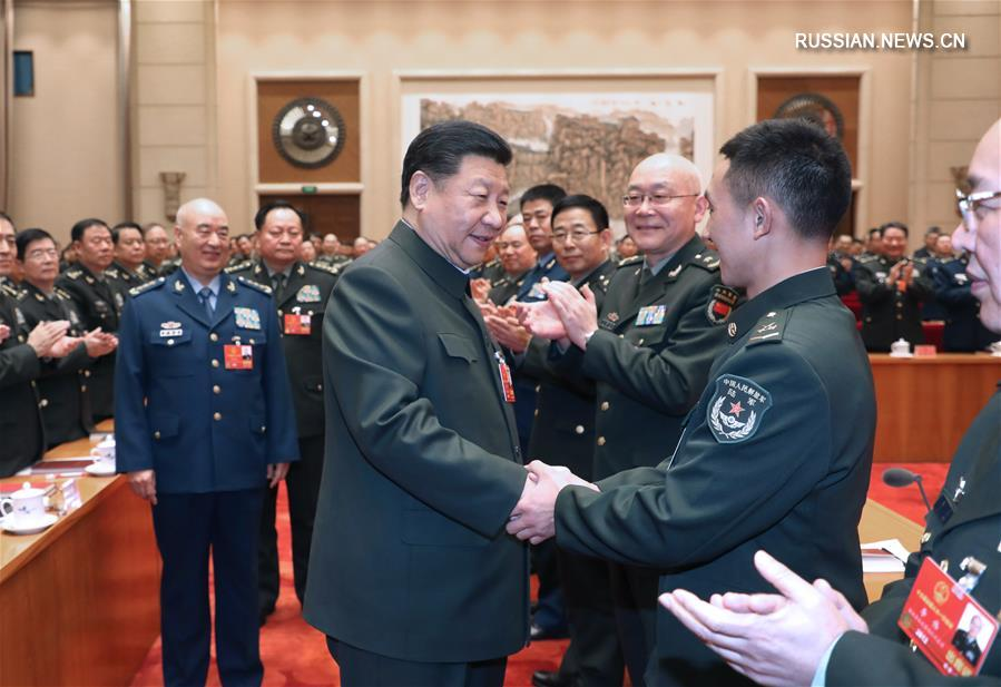 Си Цзиньпин призвал углубить военно-гражданскую интеграцию в целях осуществления китайской мечты